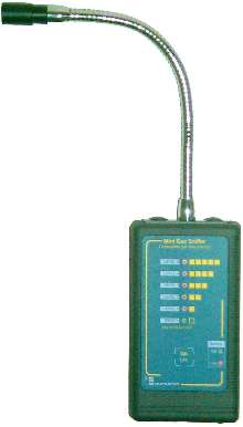 Natural Gas Detector is suited for use in HVAC industry.