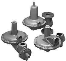 Worker/Monitor Regulators provide optimal pressure control.