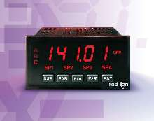 Panel Meter performs high-speed math functions on 2 inputs.