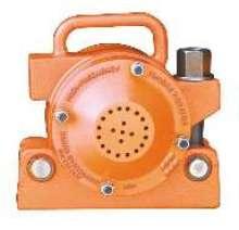 Pneumatic Turbine Vibrator moves bulk solids.