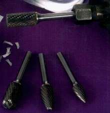 Carbide Burs enable smooth operator control.