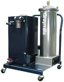 Oil/Water Separator maintains quality of coolant.