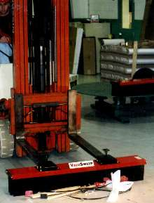 Push Brooms are suited for various cleanup applications.