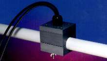Ultrasonic Flow Transducer measures flow in small pipes.