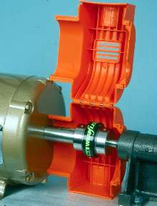 Coupling Guards suit electric motor/gearmotor connections.