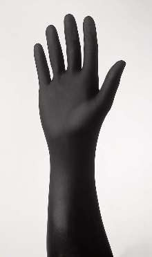 Disposable Nitrile Gloves feature textured fingertips.