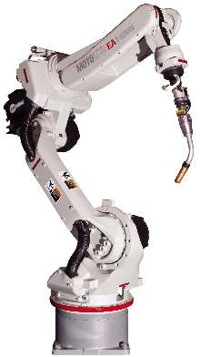 Welding Robots eliminate cable interference.
