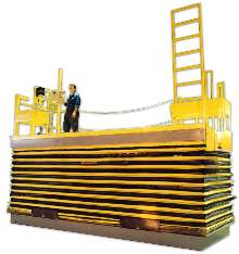 Personnel Lift handles up to 4,000 lb.