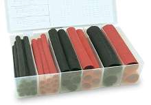 Heat Shrink Tubing offers strain relief.