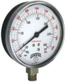 Ammonia Pressure Gauge is offered in 3½ in. size.