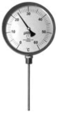 Bi-Metal Thermometer suits industrial applications.