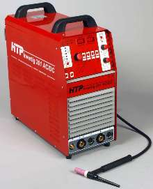 AC/DC TIG Welder delivers 200 A of welding power.
