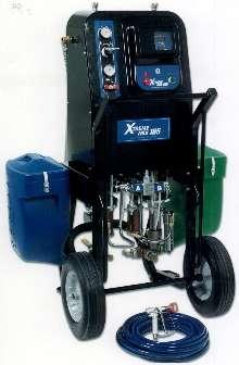Protective Coatings Sprayer has ratio assurance controls.