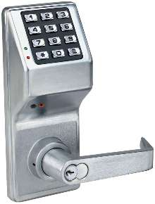 Electronic Door Lock incorporates privacy feature.