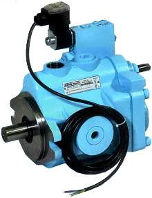 Piston Pumps offer electronic option.