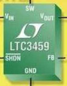 Step-Up DC/DC Converter suits battery back-up applications.