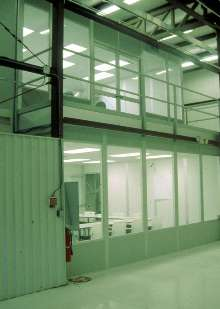 Modular Building Systems incorporate protective finishes.