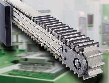Timing Belt Conveyors offer speeds up to 200 fpm.