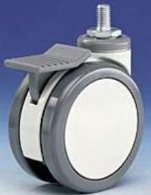 Casters are suited for use on medical equipment.