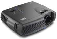 Projector has lightweight, compact design.
