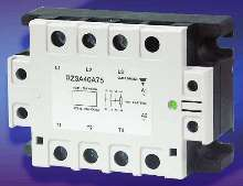 Solid State Relay switches voltages/currents to 690 Vrms.
