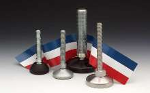 Machinery Leveling Mounts offer high load capacity.