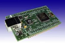 FPGA Board allows hardware reprogramming via USB.