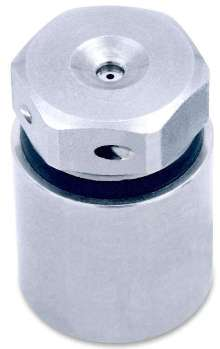 Atomizing Nozzle eliminates need for compressed air.
