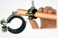 Pipe Clamp curtails vibration.