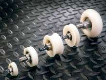Rollers and Cam Followers offer alternative to metal rollers.