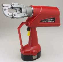 Single-Handed Crimping Tool is battery-actuated.