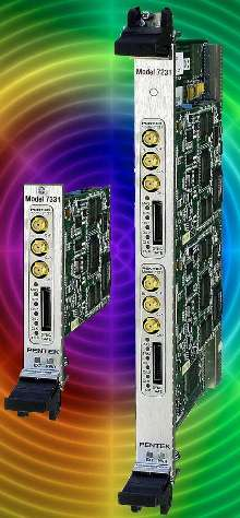 Multiband Receivers offered in 3U and 6U form factors.