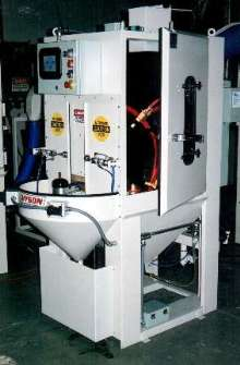 Rotary Blast System provides automated surface treatment.