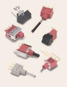 PC Mount Switches are UL listed and CSA certified.