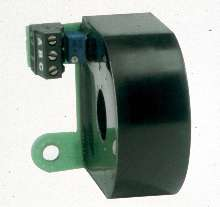 Current Transformer mounts directly onto solid-state relay.