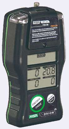Multigas Detector uses interchangeable sensors.