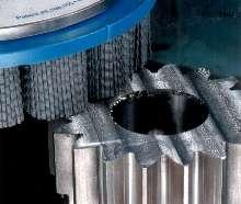 Abrasive Nylon Disc Brushes suit in-machine deburring.