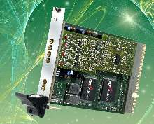 PXI Card offers 4 high-speed digitizer channels.