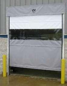 Vinyl Door offers alternative to high-speed impact doors.