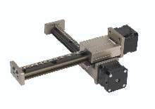 Linear Stages integrate stepper motor and screw.