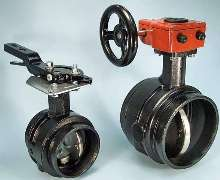 Butterfly Valves install seamlessly into piping systems.