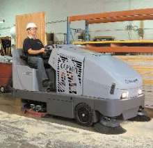 Sweeper/Scrubber is battery operated.