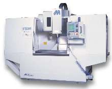 Machining Center features roller type linear ways.
