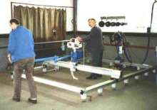 Welding Station offers pre-fabrication of tube and pipe.