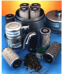 Vacuum Pump Inlet traps contaminants.