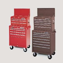Tool Storage Units protect machine shop tools.