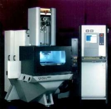 Wire EDM Machine provides cutting in submerged mode.