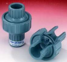 Diaphragm Check Valves are manufactured from Corzan® CPVC.