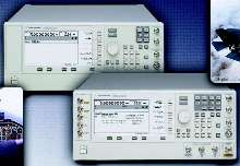 Signal Generators offer frequency ranges to 67 GHz.