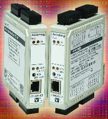 Ethernet I/O Modules control up to 6 devices.